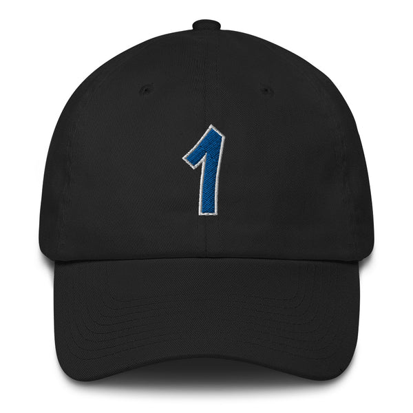 Penny Hardaway #1 Dad Hat-Player Number Hat-Coverage Gear