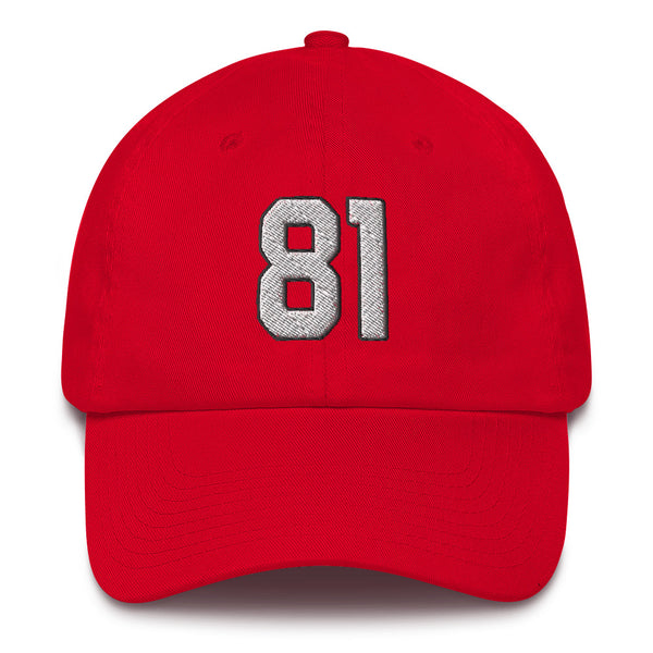 Anquan Boldin #81 Dad Hat-Player Number Hat-Coverage Gear