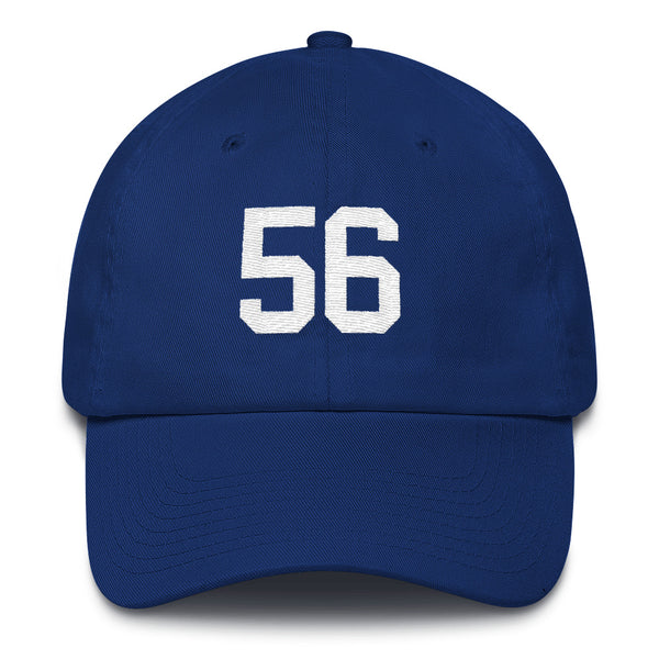 Lawrence Taylor #56 Dad Hat-Player Number Hat-Coverage Gear