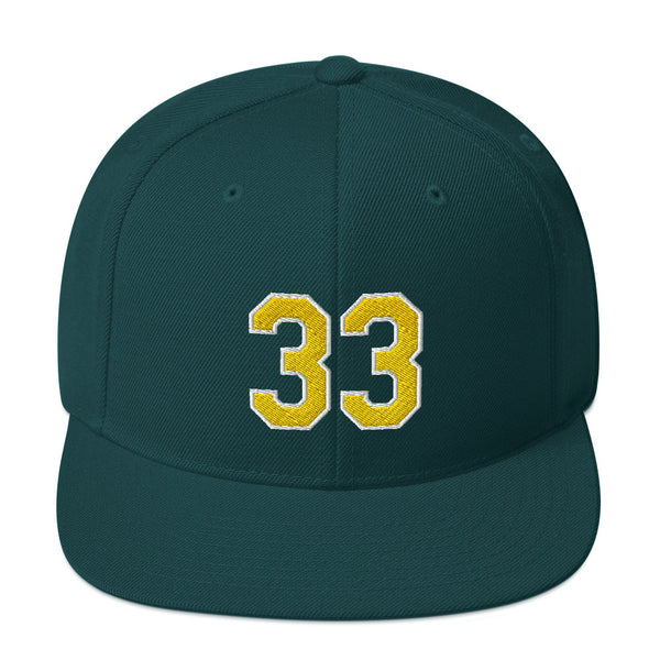 Jose Canseco #33 Snapback Hat-Player Number Hat-Coverage Gear