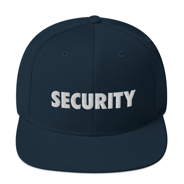 Security Snapback Hat