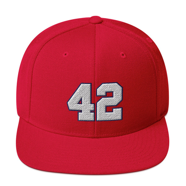 Elton Brand #42 Snapback Hat-Player Number Hat-Coverage Gear