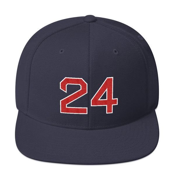 Manny Ramirez #24 Snapback Hat-Player Number Hat-Coverage Gear