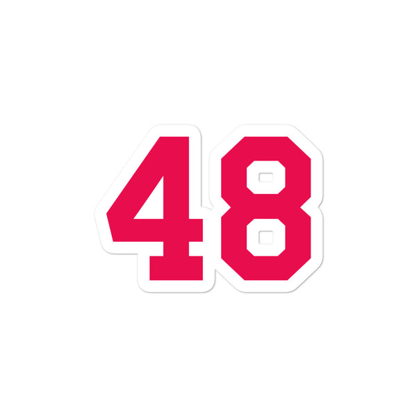 Torii Hunter #48 Sticker