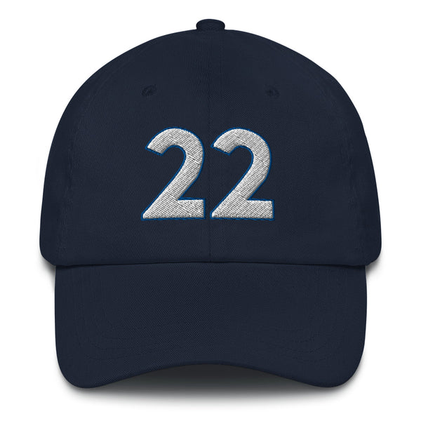 Andrew Wiggins #22 Dad Hat-Player Number Hat-Coverage Gear
