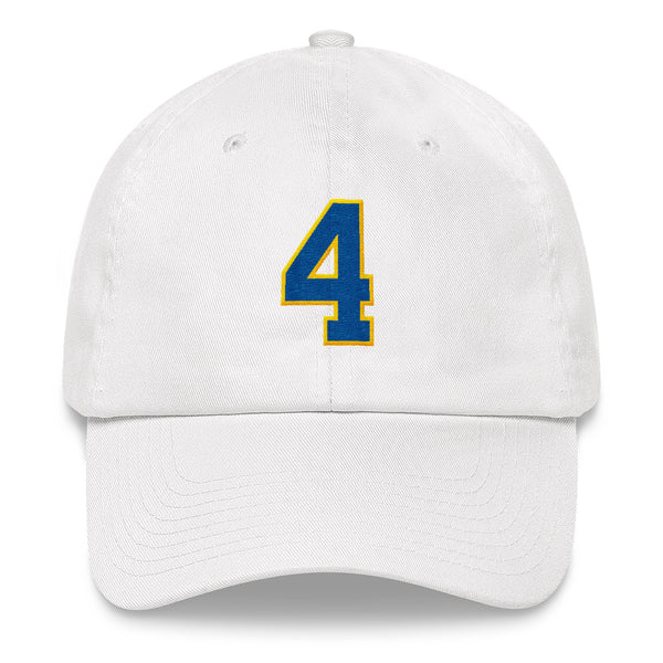 Paul Molitor #4 Dad Hat-Player Number Hat-Coverage Gear