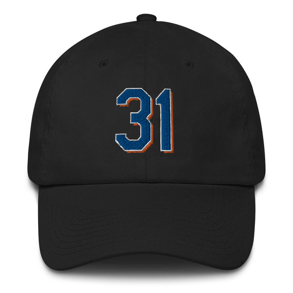 Mike Piazza #31 Dad Hat-Player Number Hat-Coverage Gear