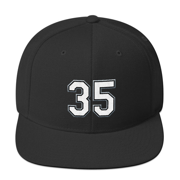 Frank Thomas #35 Snapback Hat-Player Number Hat-Coverage Gear