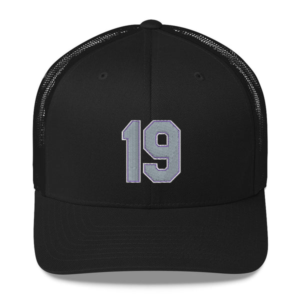 Charlie Blackmon #19 Trucker Cap