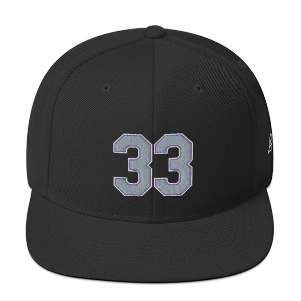 Larry Walker #33 Snapback Hat