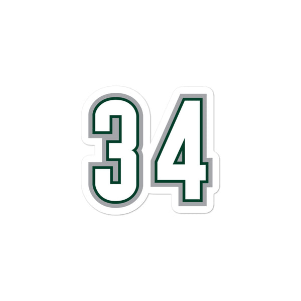 Ray Allen #34 Sticker