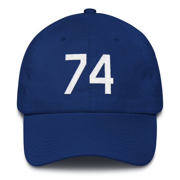 Kenley Jansen #74 Dad Hat-Player Number Hat-Coverage Gear