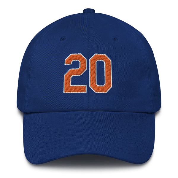 Pete Alonso #20 Dad Hat-Player Number Hat-Coverage Gear