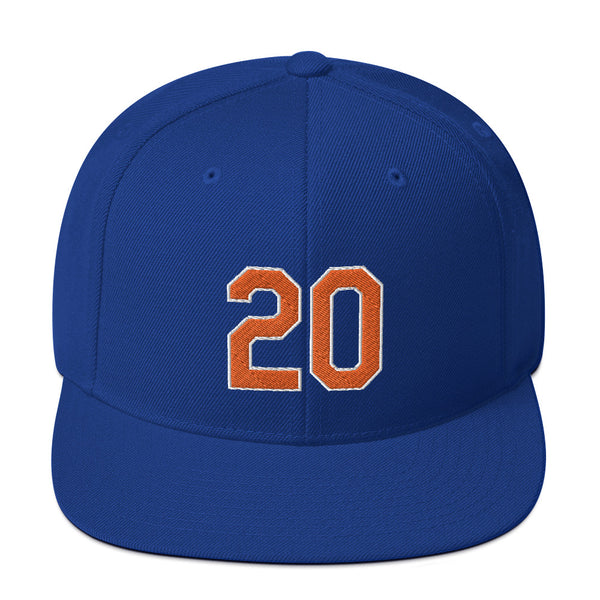 Pete Alonso #20 Snapback Hat-Player Number Hat-Coverage Gear