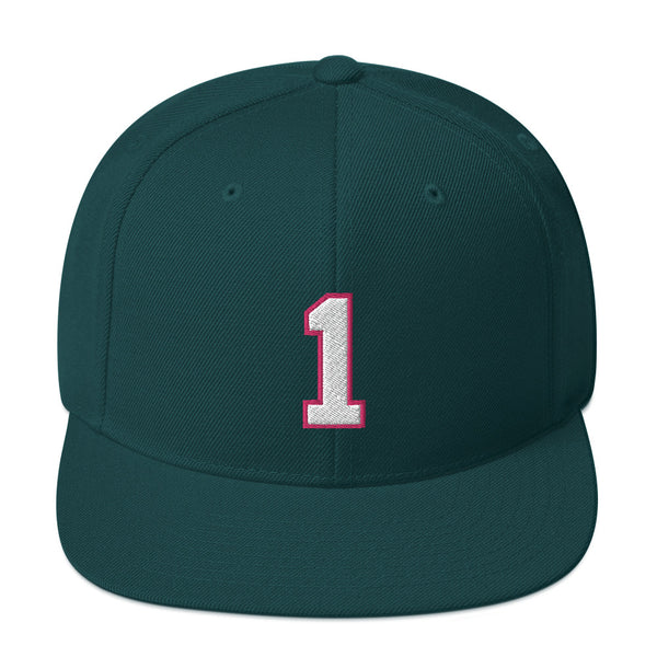 Oscar Robertson #1 Snapback Hat-Player Number Hat-Coverage Gear