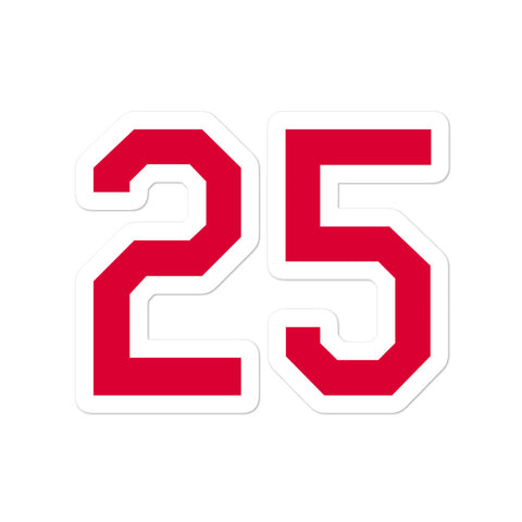 Jim Thome #25 Sticker