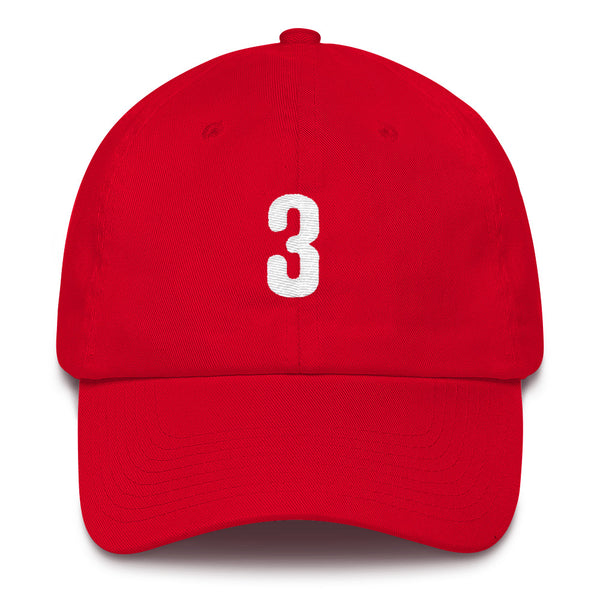 Bryce Harper #3 Dad Hat-Player Number Hat-Coverage Gear