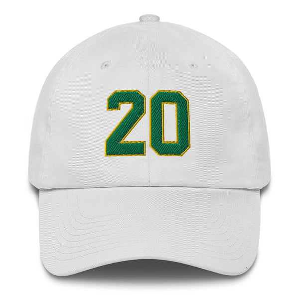 Gary Payton #20 Dad Hat-Player Number Hat-Coverage Gear