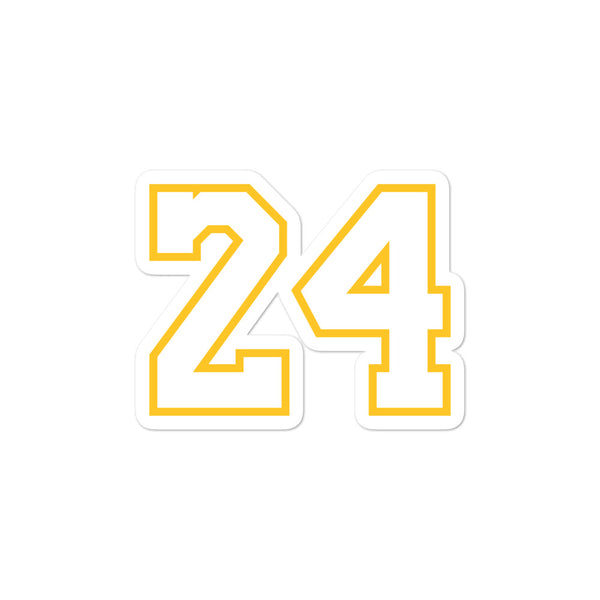 Kobe Bryant #24 Sticker