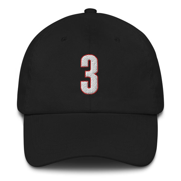 CJ McCollum #3 Dad Hat-Player Number Hat-Coverage Gear