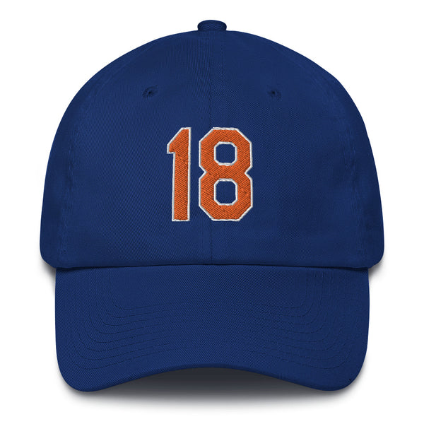 Darryl Strawberry #16 Dad Hat-Player Number Hat-Coverage Gear