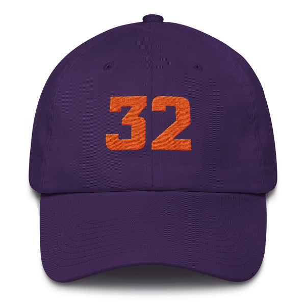 Amar'e Stoudamire #32 Dad Hat-Player Number Hat-Coverage Gear