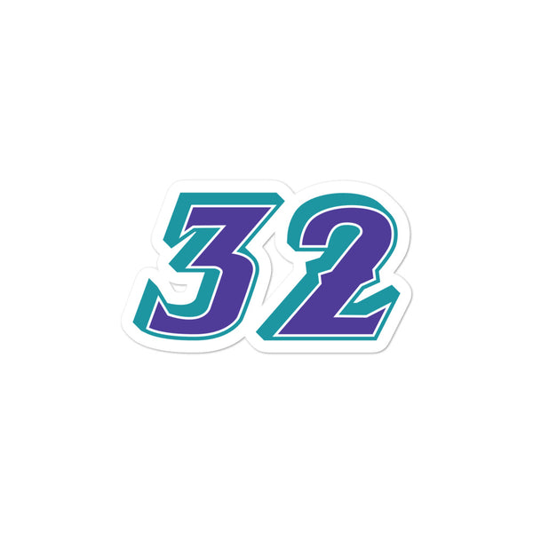 Karl Malone #32 Sticker