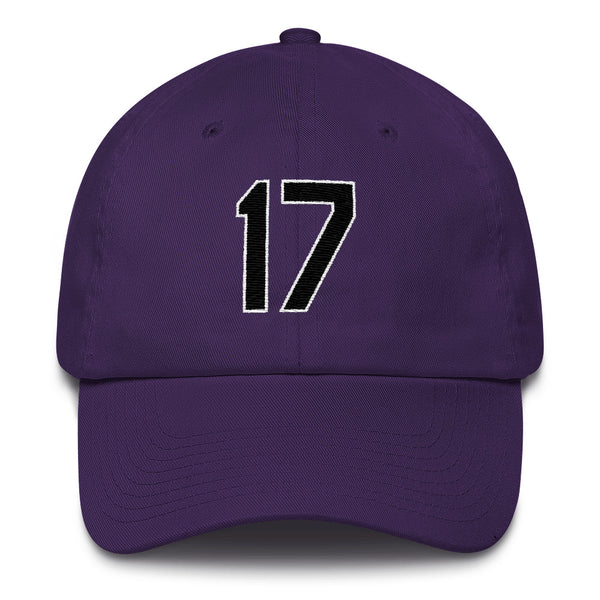 Todd Helton #17 Dad Hat-Player Number Hat-Coverage Gear