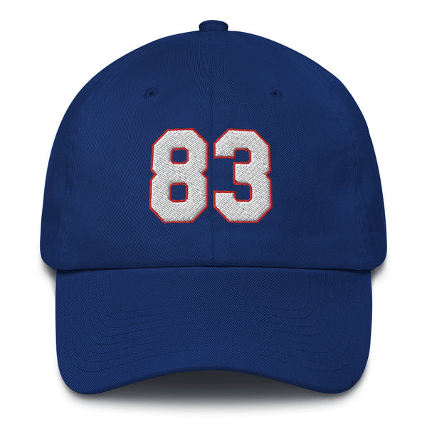 Andre Reed #83 Dad Hat-Player Number Hat-Coverage Gear