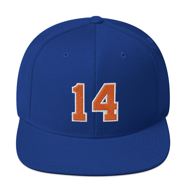Anthony Mason #14 Snapback Hat-Player Number Hat-Coverage Gear