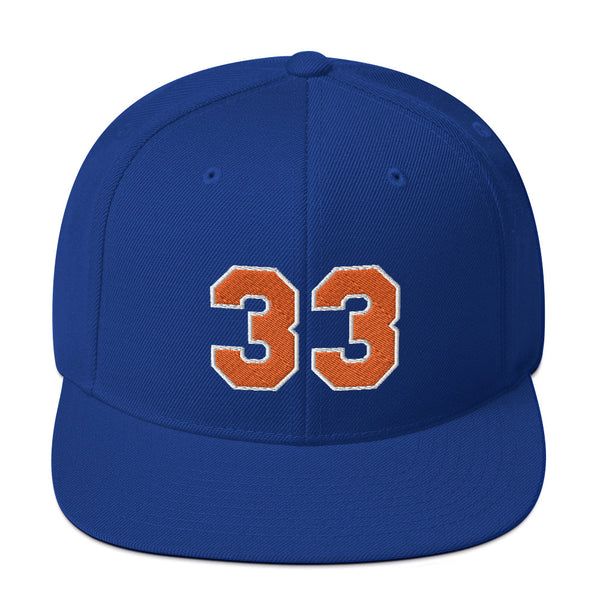 Patrick Ewing #33 Snapback Hat-Player Number Hat-Coverage Gear