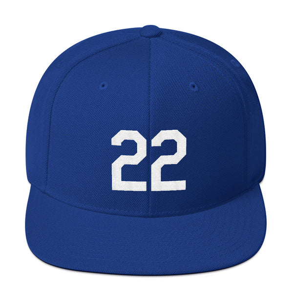 Clayton Kershaw #22 Snapback Hat-Player Number Hat-Coverage Gear