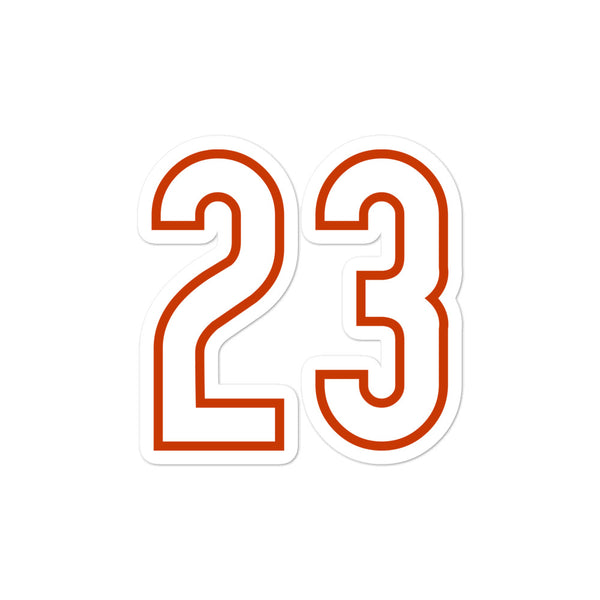 Devin Hester #23 Sticker