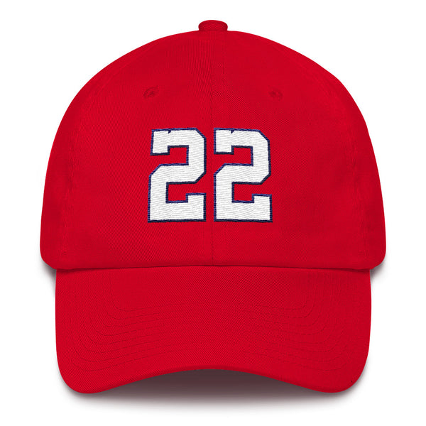 Juan Soto #22 Dad Hat-Player Number Hat-Coverage Gear