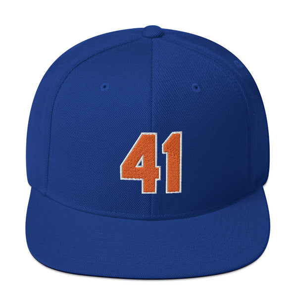 Tom Seaver #41 Snapback Hat-Player Number Hat-Coverage Gear