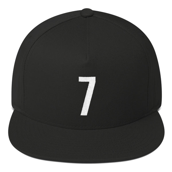 Kevin Durant #7 Snapback Flat Bill-Player Number Hat-Coverage Gear