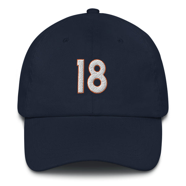 Peyton Manning #18 Dad hat