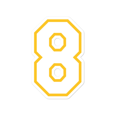 Kobe Bryant #8 Sticker