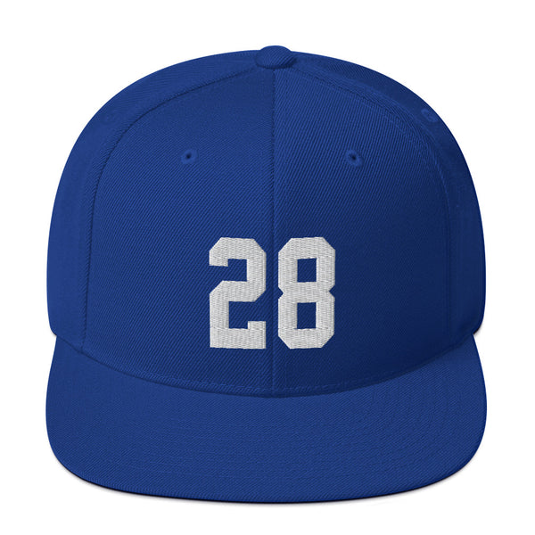 Marshall Faulk #28 Snapback Hat