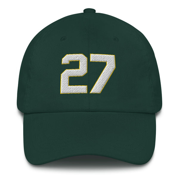 James Hunter #27 Dad hat-Player Number Hat-Coverage Gear