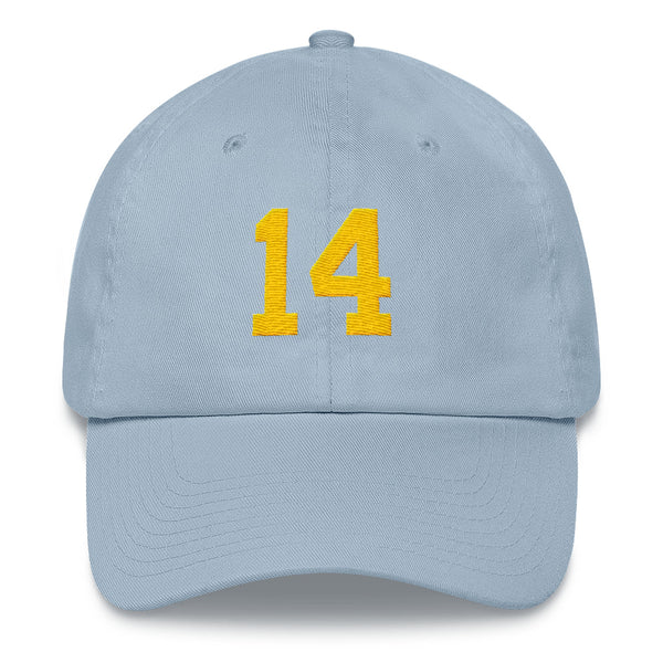 Dan Fouts #14 Dad Hat-Player Number Hat-Coverage Gear