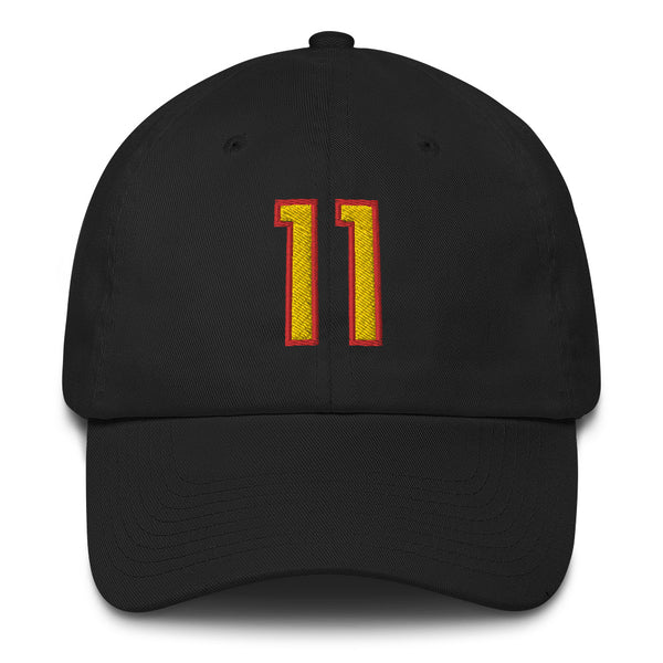 Trae Young #11 Dad Hat-Player Number Hat-Coverage Gear