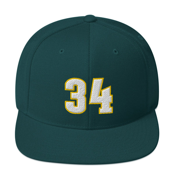Ray Allen #34 Snapback Hat-Player Number Hat-Coverage Gear