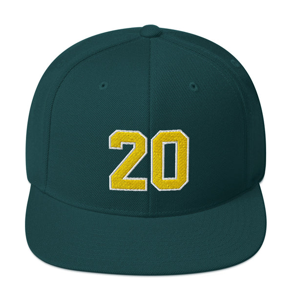 Gary Payton #20 Snapback Hat-Player Number Hat-Coverage Gear