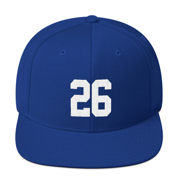 Saquon Barkley #26 Snapback Hat-Player Number Hat-Coverage Gear