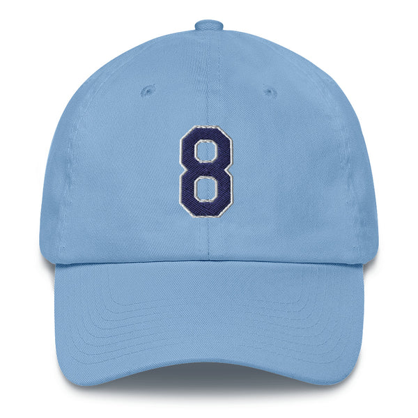 Brandon Lowe #8 Dad Hat-Player Number Hat-Coverage Gear