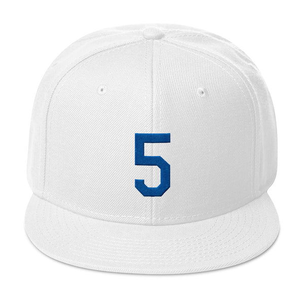 Corey Seager #5 Snapback Hat-Player Number Hat-Coverage Gear