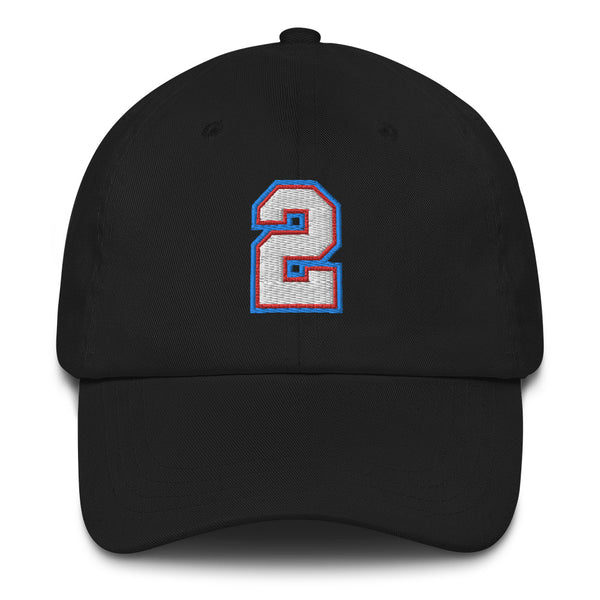 Jason Williams #2 Dad Hat-Player Number Hat-Coverage Gear