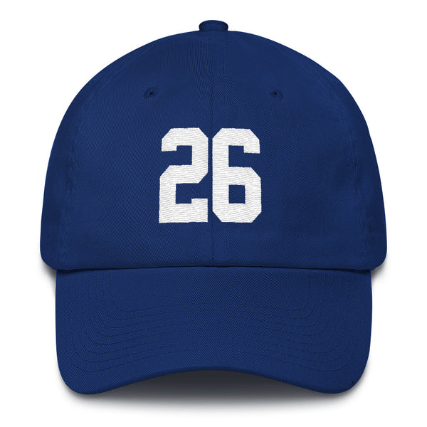 Saquon Barkley #26 Dad Hat-Player Number Hat-Coverage Gear