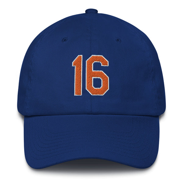 Dwight Gooden #16 Dad Hat-Player Number Hat-Coverage Gear
